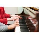 quanto custa escola de piano para crianças Vila Gustavo