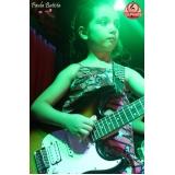 quanto custa escola de violão para crianças pequenas Vila Medeiros