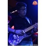 Quanto custa uma Aula de guitarra profissional no Mandaqui