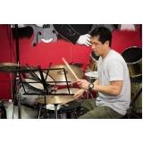 Valor Aula de bateria em Santana