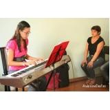 Valor de Aula de teclado avançado em Brasilândia