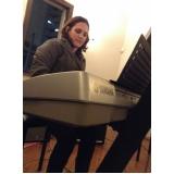 Valor de Aula de teclado para iniciantes na Lauzane Paulista