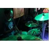 Valor de Escola para aula de bateria na Vila Maria