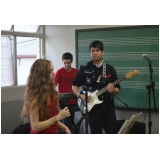 Valor de Escola para aula guitarra em Santana