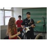 Valor de Escola para aula guitarra na Vila Gustavo