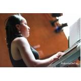 Valor de uma Aula de teclado avançado em Santana