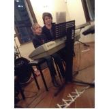 Valor de uma Aula de teclado ritmos em Brasilândia