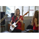 Valor de uma Escola para aula guitarra no Tucuruvi