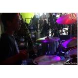 Valor Escola para aula de bateria na Vila Gustavo