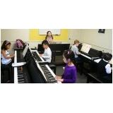 Valores Aula de piano em Brasilândia