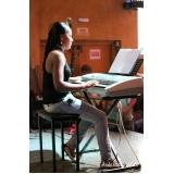 Valores Aula de teclado avançado na Vila Maria