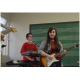 Valores de Escola para aula guitarra na Lauzane Paulista