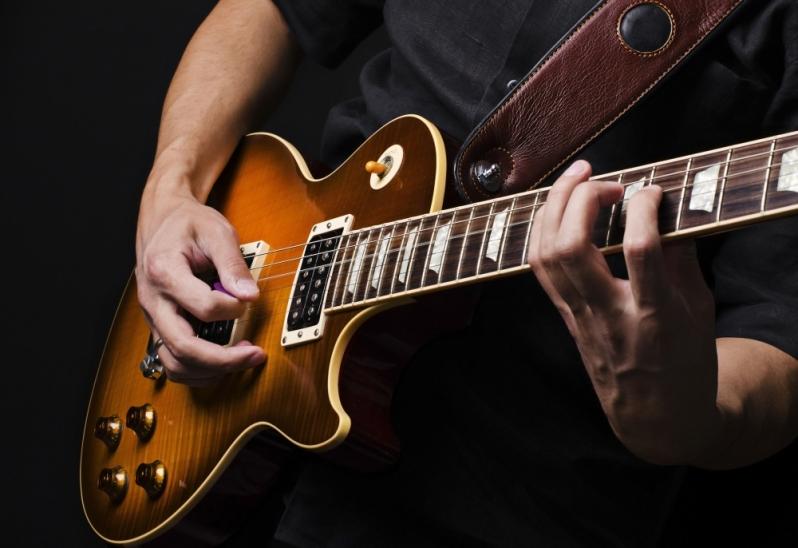 Valor de Aula de Guitarra em Santana - Aula de Guitarra Preço