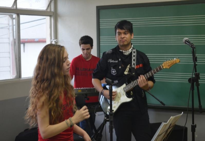 Valor de Escola para Aula Guitarra na Vila Gustavo - Aula de Guitarra no Carandiru