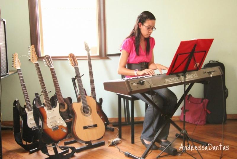 Valor de uma Aula de Teclado Avançado na Lauzane Paulista - Aula de Teclado Musical