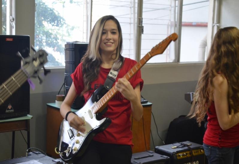 Valor de uma Escola para Aula Guitarra no Tucuruvi - Aula de Guitarra na Zona Norte